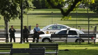 الشرطة الأمريكية البيت الابيض