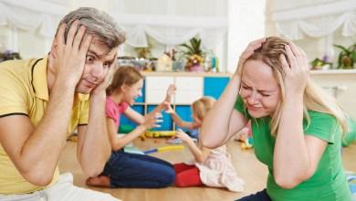 إرهاق وتوتر الآباء