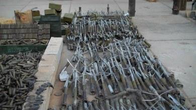 أسلحة القذافي