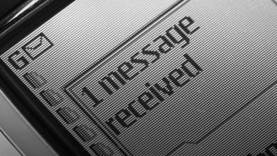 أول SMS