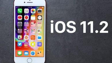 نظام ios 11.2