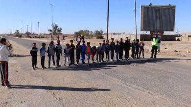 سباق للجري من تنظيم رواد الخير في غدامس