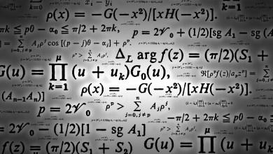 المُعادلات الرياضية
