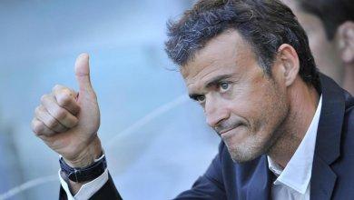 المدرب الأسباني لويس أنريكي