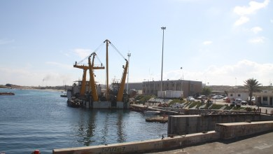 ميناء الزاوية النفطي - ارشيفية