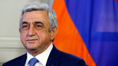 رئيس وزراء أرمينيا سيرغ سركسيان