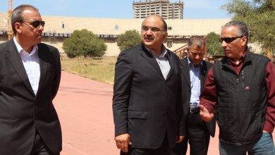 رئيس هيئة الشباب والرياضة بالحكومة المؤقتة الدكتور طلال أبو خطوة