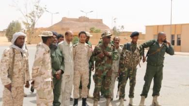 آمر اللواء السادس مشاة العميد خليفة عبد الحفيظ