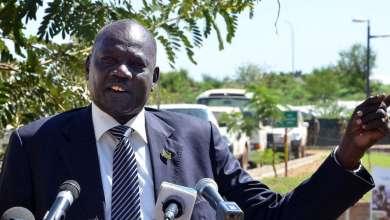 المتحدث باسم حكومة جنوب السودان مايكل مكوي لويث