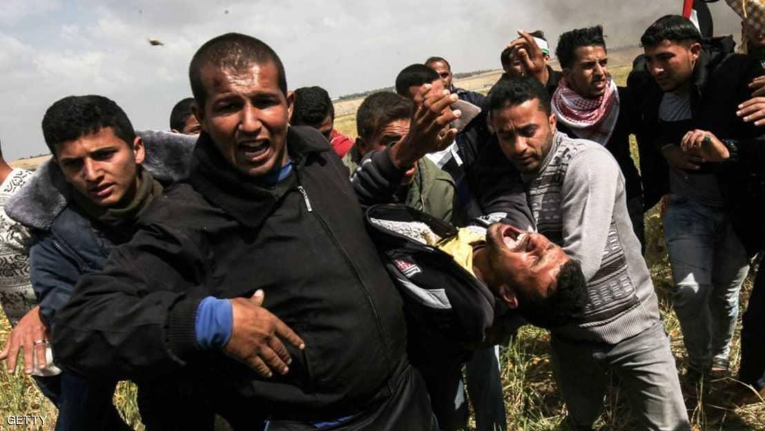 ارتفاع حصيلة قتلى مسيرات العودة الفلسطينية