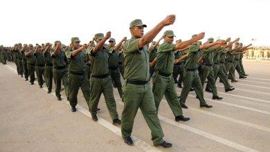 احتفال بتخرج الدفعة 51 من الجيش الوطني - تصوير عبدالله دومة