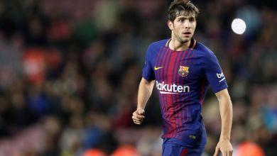 مدافع برشلونة سيرجي روبرتو