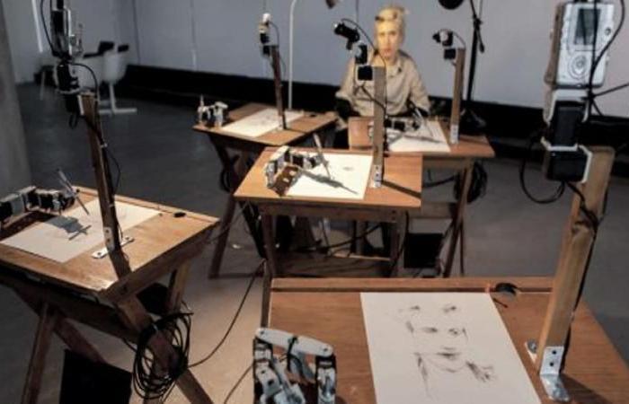 الفنان الأمريكي بارنبي فيرنس