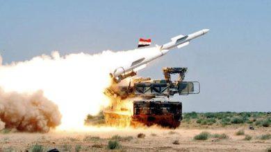 مضادة صواريخ سورية - أرشيفية