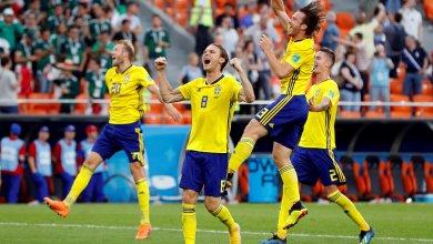 المنتخب السويدي ضد المنتخب المكسيكي بمونديال روسيا 2018