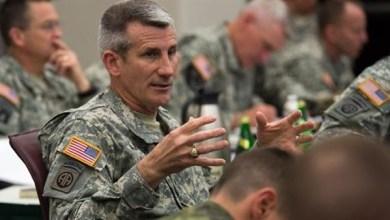 الجنرال جون نيكولسون قائد القوات الأمريكية في أفغانستان