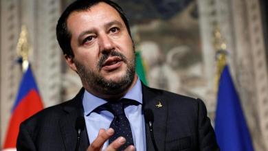 رئيس حزب الرابطة الإيطالي ماتيو سالفيني