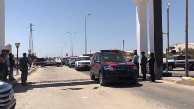 بوابات أمنية في بنغازي