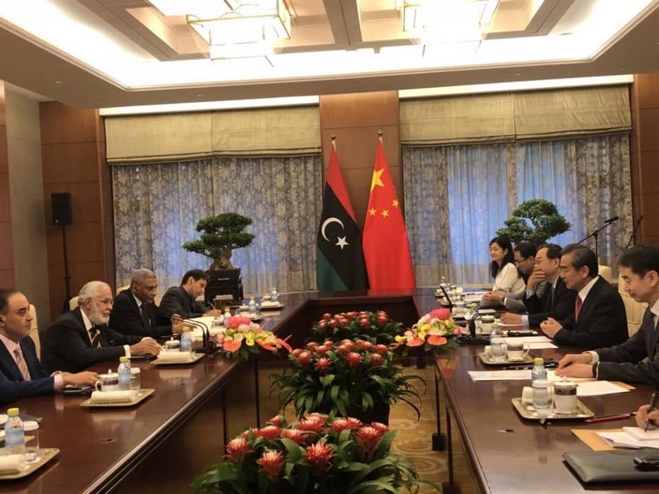 عودة السفارة الصينية لليبيا