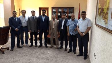 مسؤولي القطاع الزراعي في ليبيا