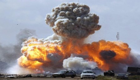 قصف الناتو في ليبيا 2011