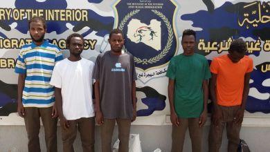 ترحّيل 145 مهاجرا سودانيا - جهاز مكافحة الهجرة غير الشرعبة فرع طرابلس