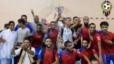 منتخب بنغازي يتوج ببطولة عمر المختار