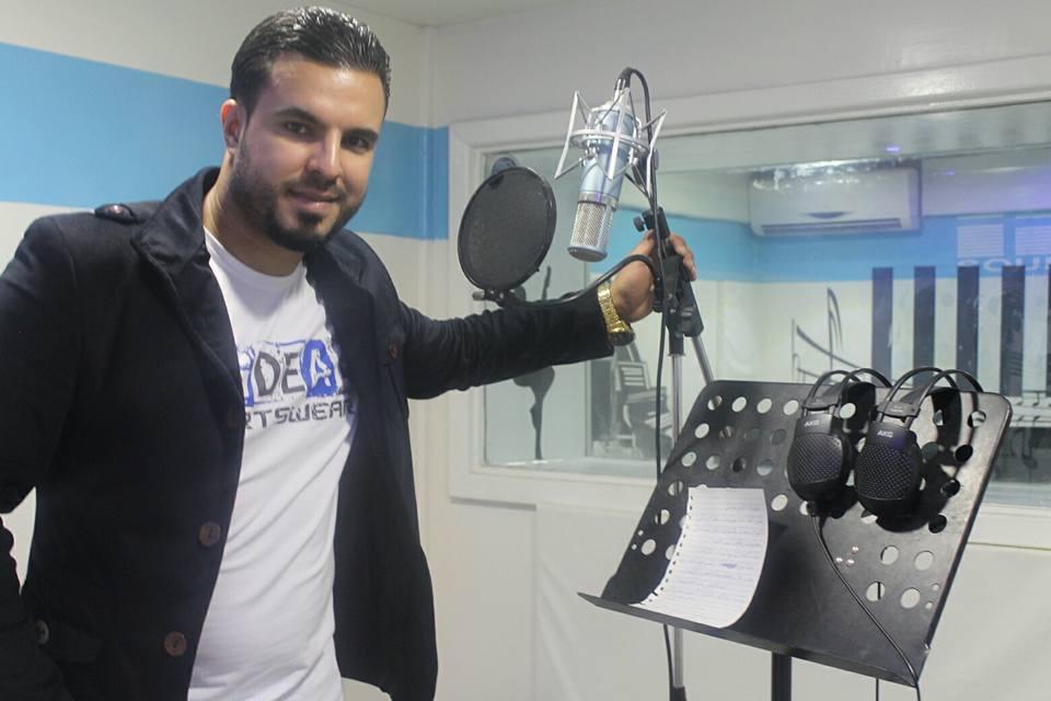 الفنان الشاب محمد الشماخي