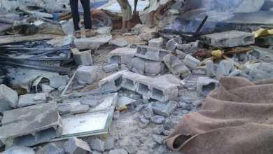 مخيم نازحي تاورغاء في منطقة الفلاح بطرابلس