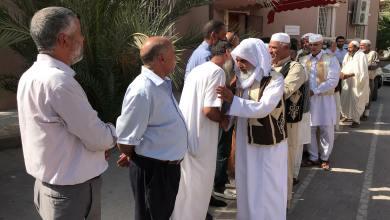 اجتماع مجموعة من أعيان وأهالي قبائل الزنتان - حي الأندلس طرابلس