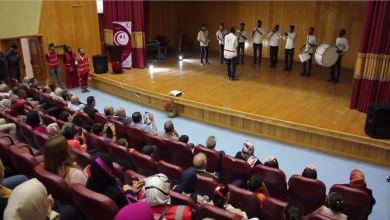 احتفال الهلال الأحمر طرابلس بالذكرى 61
