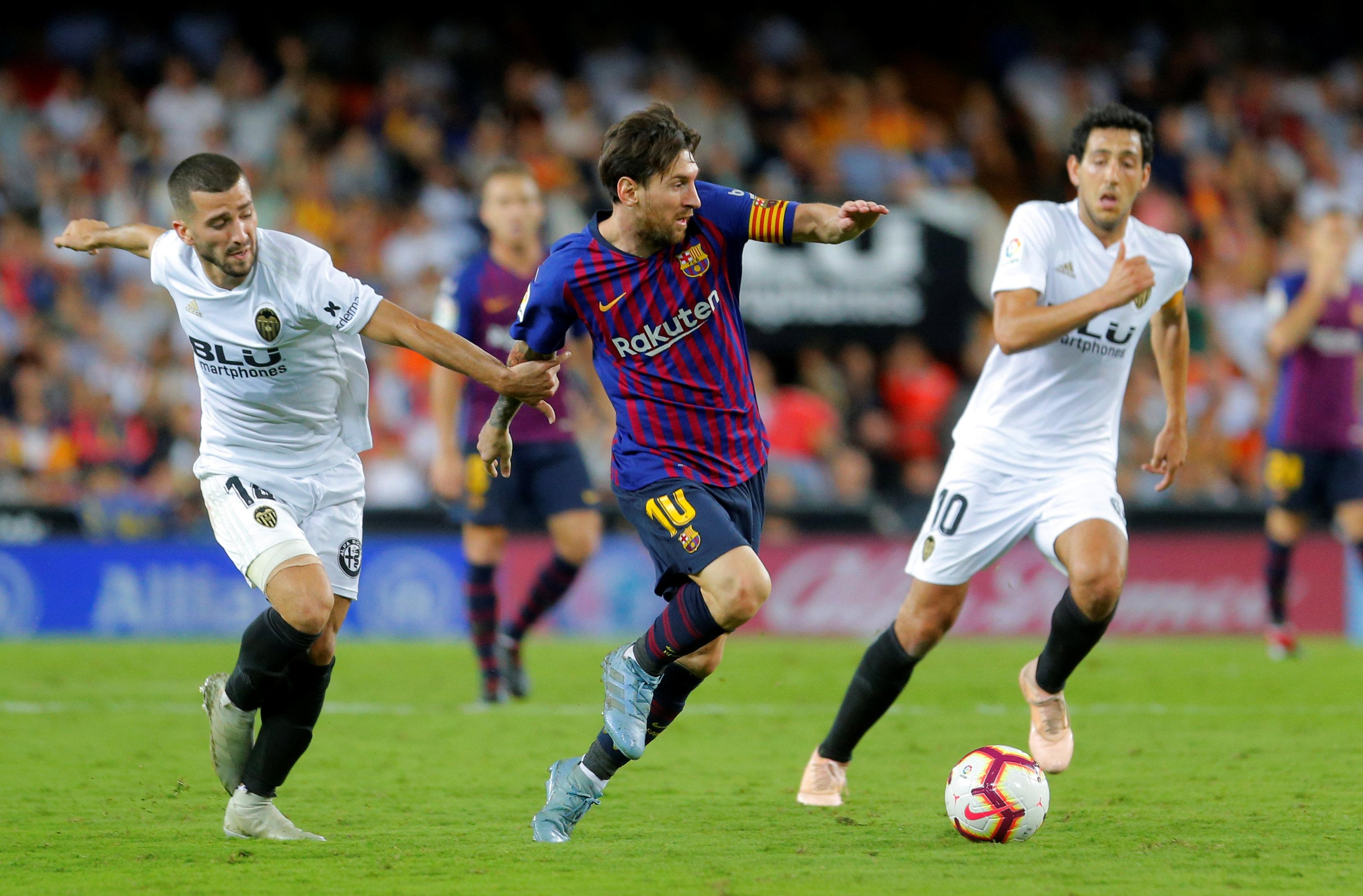 فالنسيا ضد برشلونة