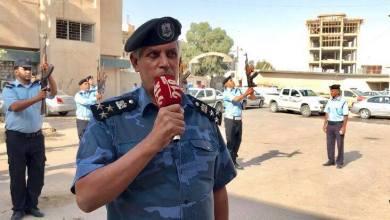 مدير مديرية امن اجدابيا، العميد سالم ماضي