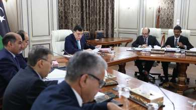 اجتماع حكومة الوفاق الخامس حول اعتمادها عدة إجراءات لمعالجة الأوضاع في المنطقة الجنوبية