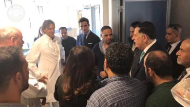 زيارة فائز السراج مُنتسبي قوات البنيان المرصوص داخل المستشفى الأوروبي - روما