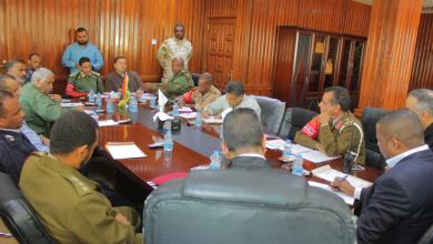 اجتماع الأجهزة الأمنية في جالو إثر الهجمات الإرهابية التي تعرضت لها بلدية تازربو