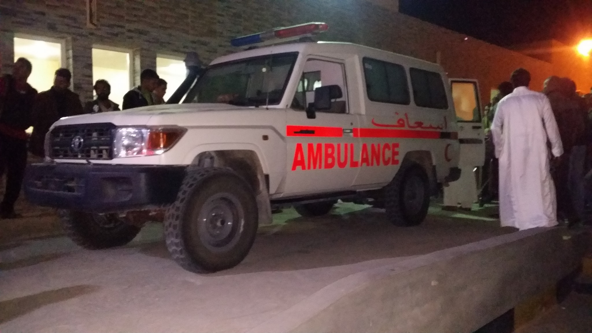 جهاز الإسعاف والطوارئ- تازربو