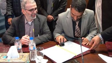 لقاء مصطفى صنع الله وعميد بلدية البريقة ناصر عطية