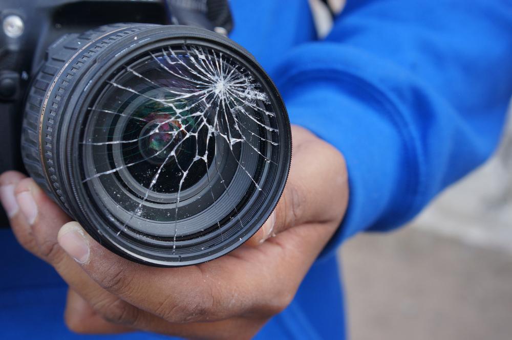 الاعتداء على الصحفيين والإعلاميين - تعبيرية