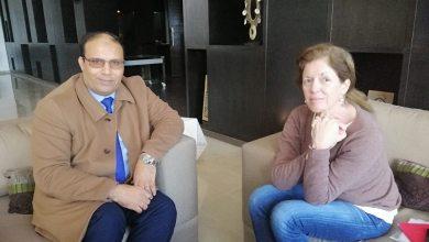 رئيس هيئة الرقابة الإدارية - نائبة رئيس بعثة الدعم للأمم المُتحدة إلى ليبيا ستيفاني وليامز