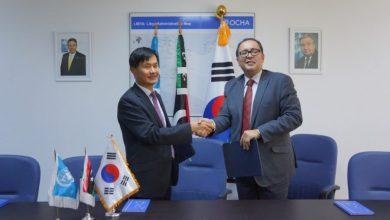 سفير كوريا الجنوبية لدى ليبيا سونغسو تشوي، - الممثل المقيم بالإنابة لبرنامج الأمم المتحدة الإنمائي بليبيا سلطان حاجييف