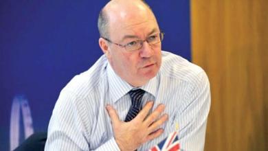 وزير الدولة البريطاني لشؤون الشرق الأوسط أليستر بيرت