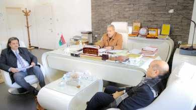 اجتماع في ديوان المحاسبة - البيضاء
