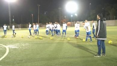 استعداد فريق الامواج الزرقاءلدوري الدرجة الثانية -طرابلس