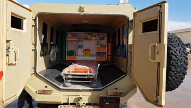 افتتاح مستشفى ميداني - الخليج العسكرية ,اجدابيا