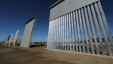 الجدار العازل على الحدود المكسيكية الأميركية