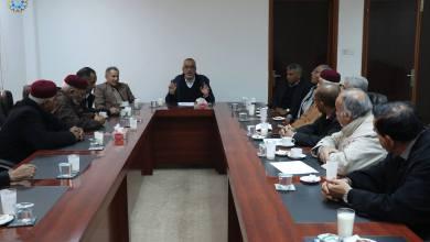 جانب من اجتماع التكتل المدني الديمقراطي - بنغازي