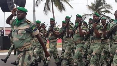 قوات من جيش الغابون