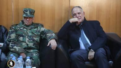 وزير الداخلية بالحكومة المؤقتة إبراهيم بوشناف - سبها