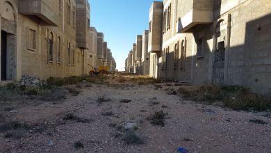 جانب من مشروع المساكن الصينية في كاباو